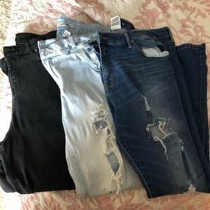 Denim - Various Sz 20 Skinny Jeans